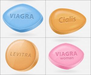 Viagra, Cialis and Levitra
