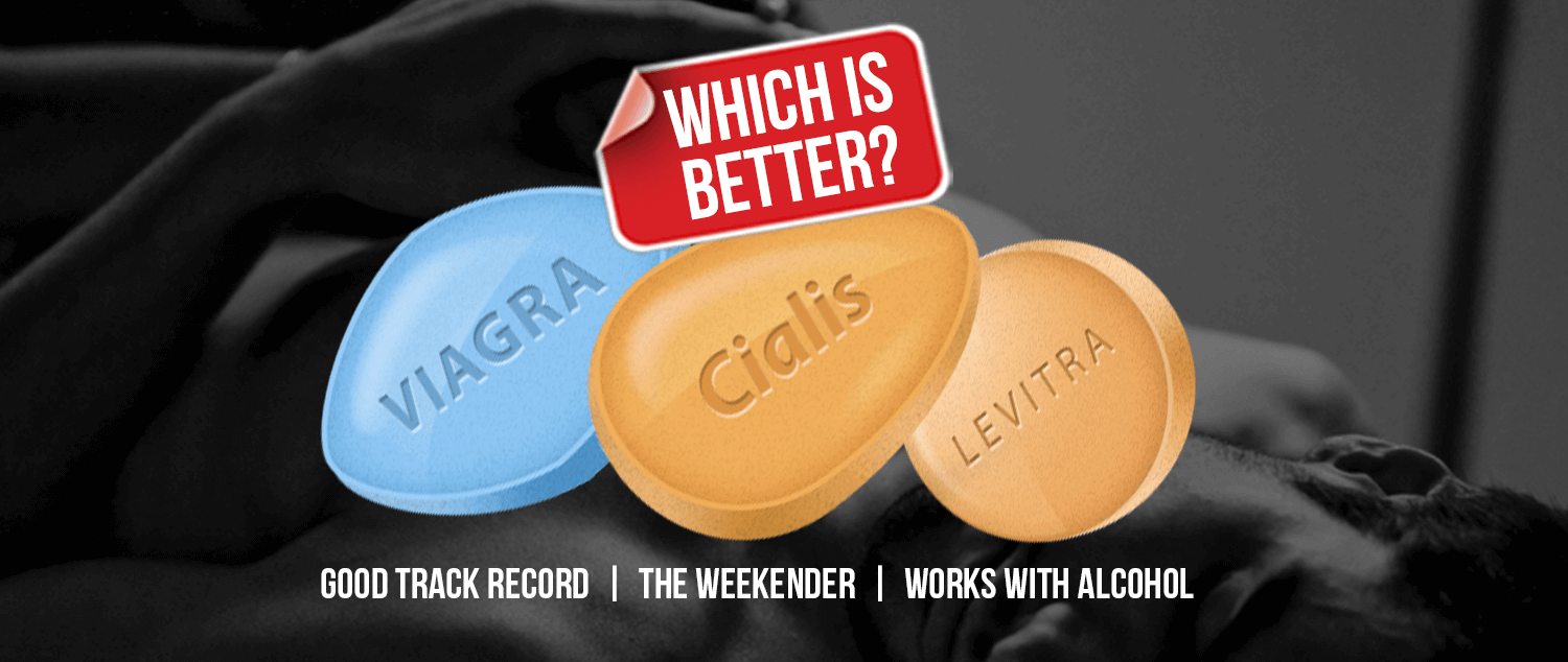 The difference between cialis and viagra