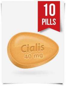 Buy Cialis 40 mg 10 Tablets. Tadalafil 40mg Price $0.99