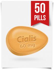 Generic Cialis 60 mg 50 Tabs