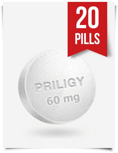 Generic Priligy Dapoxetine 60 mg x 20 Tabs