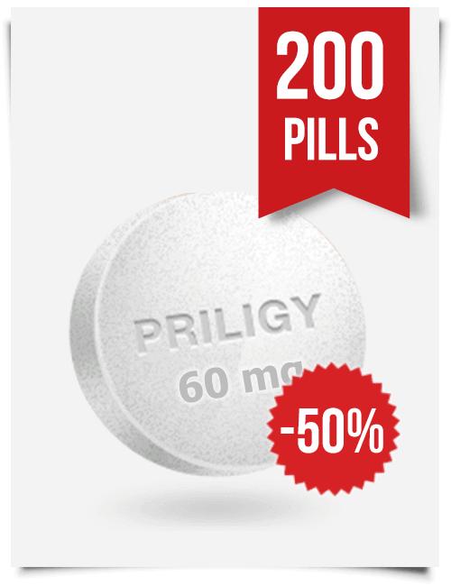 Generic Priligy Dapoxetine 60 mg x 200 Tabs