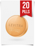 Generic Levitra 10 mg Daily x 20 Tabs