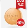 Generic Levitra 40 mg x 200 Tabs