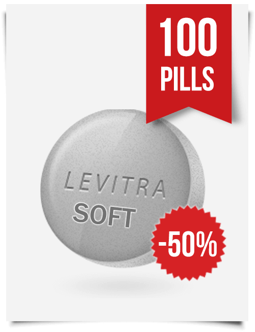 Generic Levitra Soft Chewable 20 mg x 100 Tabs
