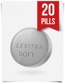 Generic Levitra Soft 20 mg x 20 Tabs