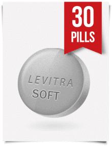 Generic Levitra Soft 20 mg x 30 Tabs