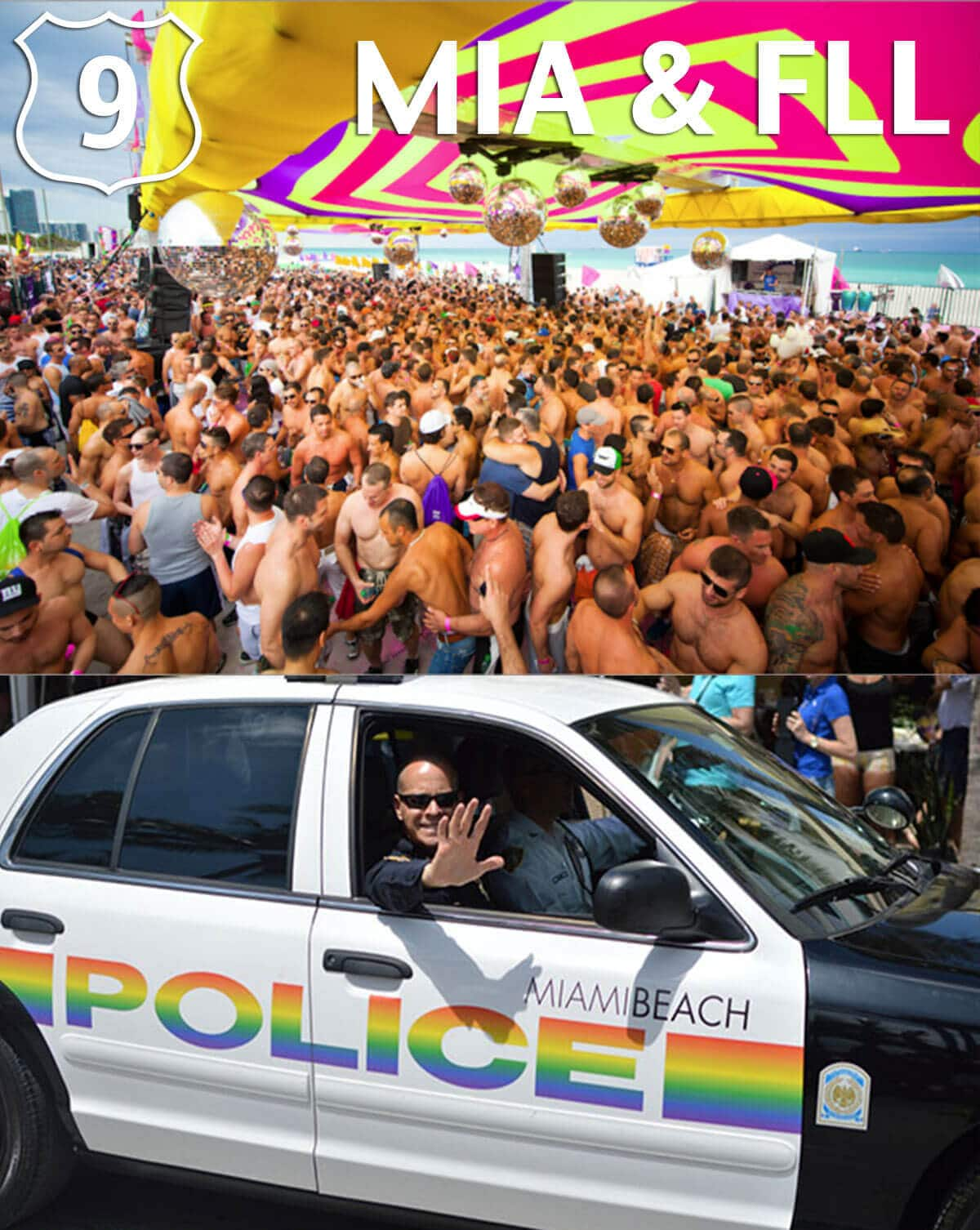Top 10 Gay Destinations 2015 Miami Fort Lauderdale