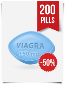 Generic Viagra 150 mg x 200 Tabs