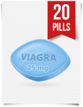 Generic Viagra 25 mg Daily x 20 Tabs