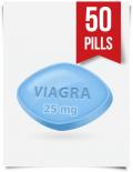Generic Viagra 25 mg Daily x 50 Tabs