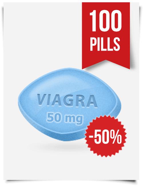 Generic Viagra 50 mg Daily x 100 Tabs