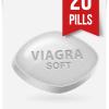 Generic Viagra Soft 100 mg x 20 Tabs