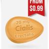 Erectalis FC 20 mg Tadalafil