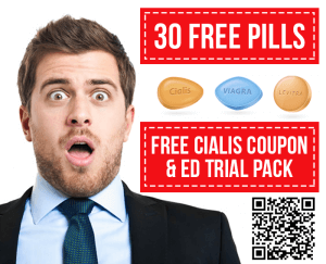 Free Cialis Coupon & ED Trial Pack 30 Pills