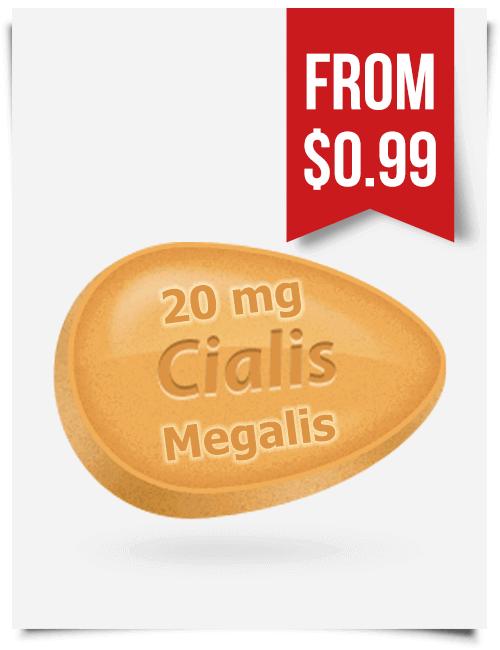 Megalis 20 mg Tadalafil