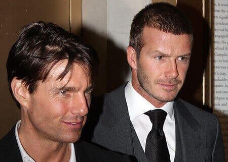 Tom Cruise gay with him boyfriend Davd Beckham BF