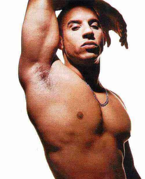 Vin Diesel gay naked photo magazine body