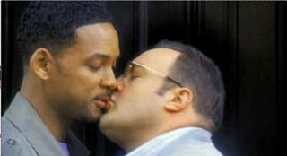 Will Smith gay kissing boyfriend BF prostitutes male