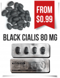 Black Cialis 80 mg Tadalafil