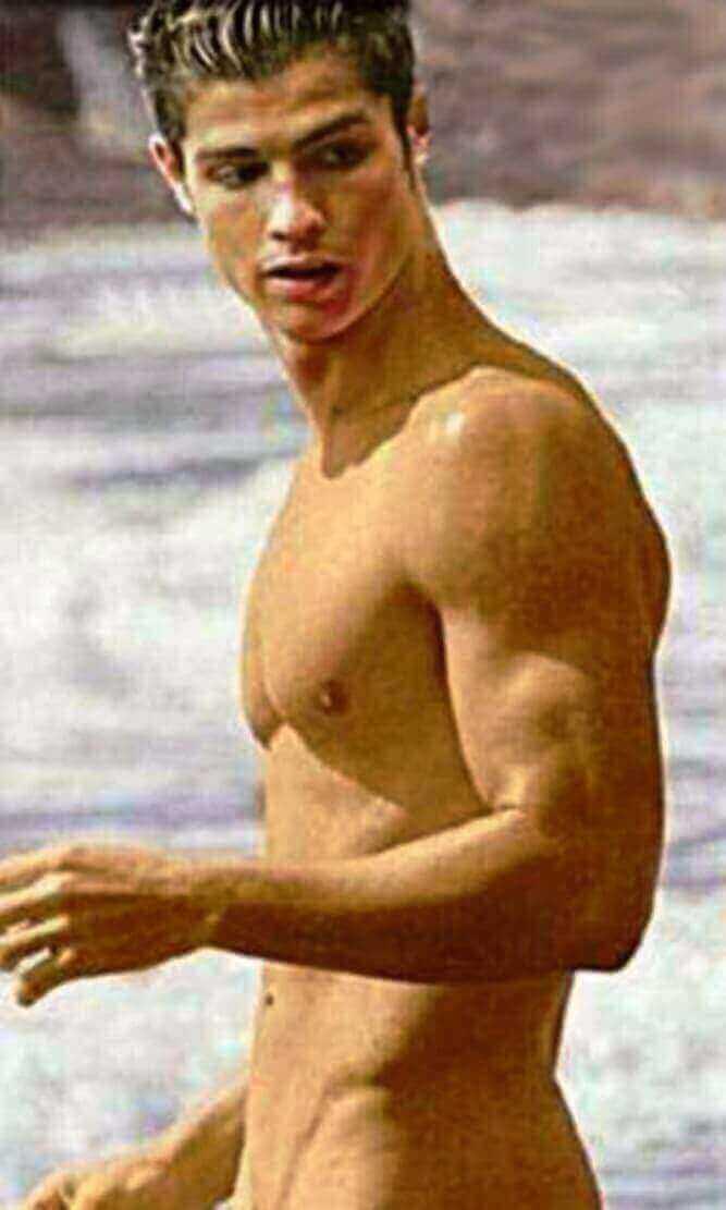 ronaldo naked cristiano ronaldo beach