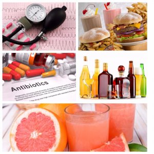 Viagra interaction with food, drinks, medications