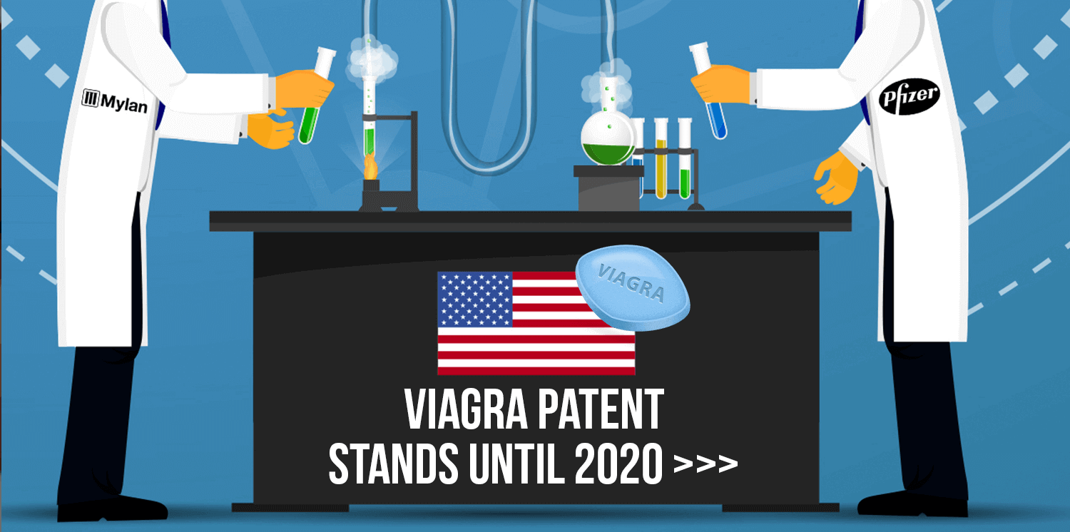 Why generic Viagra is not available in the US until 2020