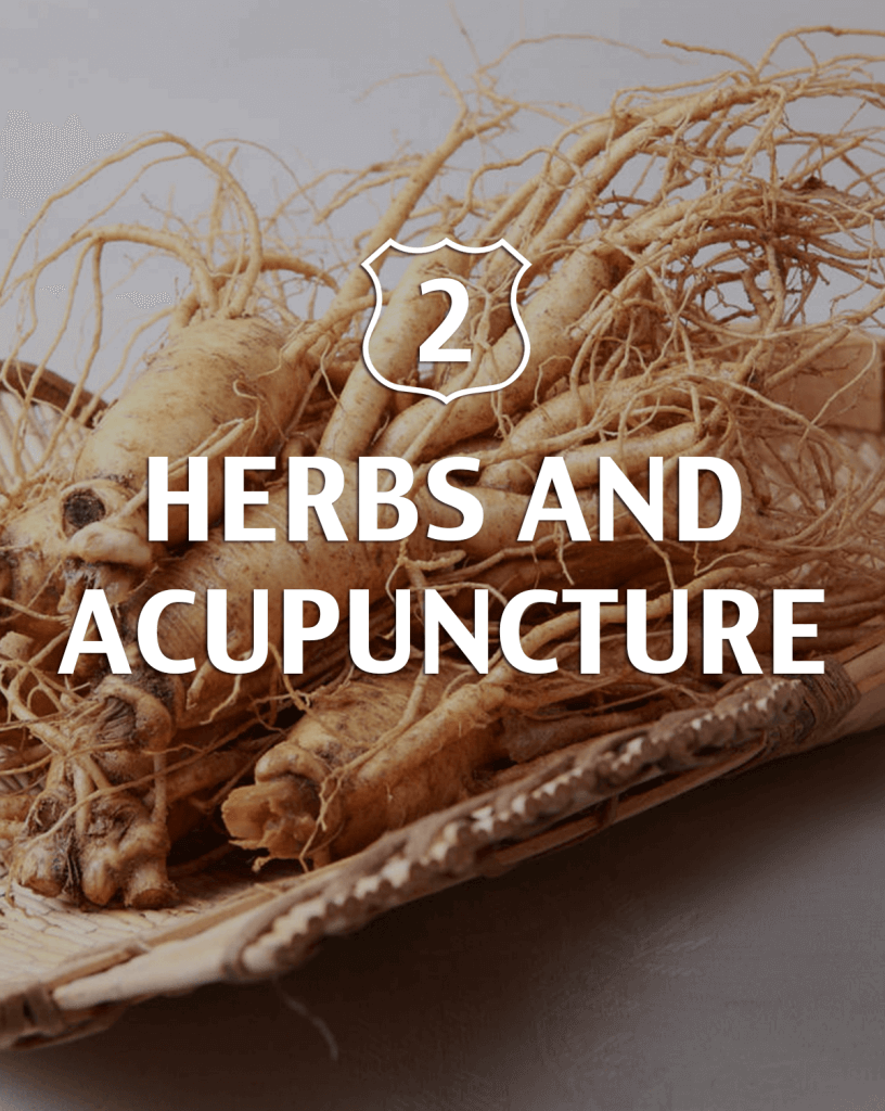Herbs and acupuncture Alternative to Viagra