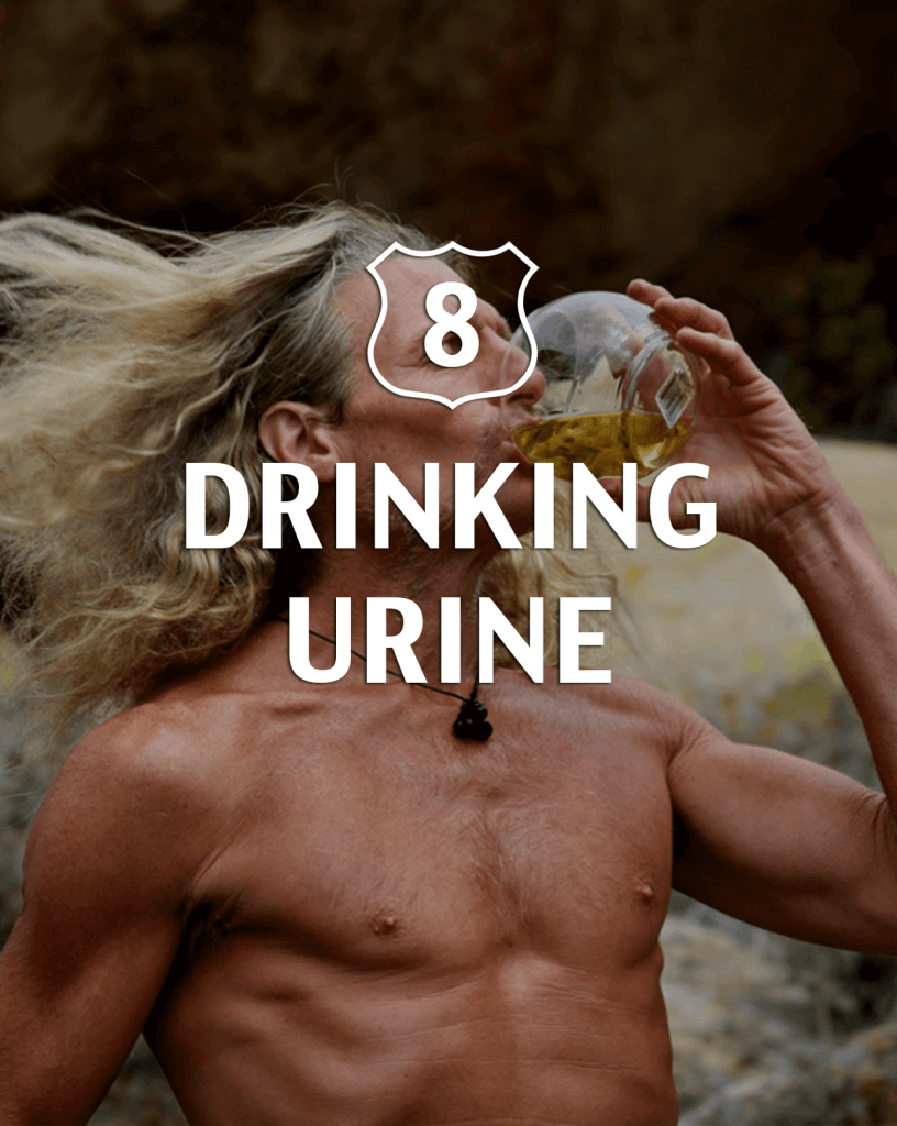Drinking urine Alternative to Viagra