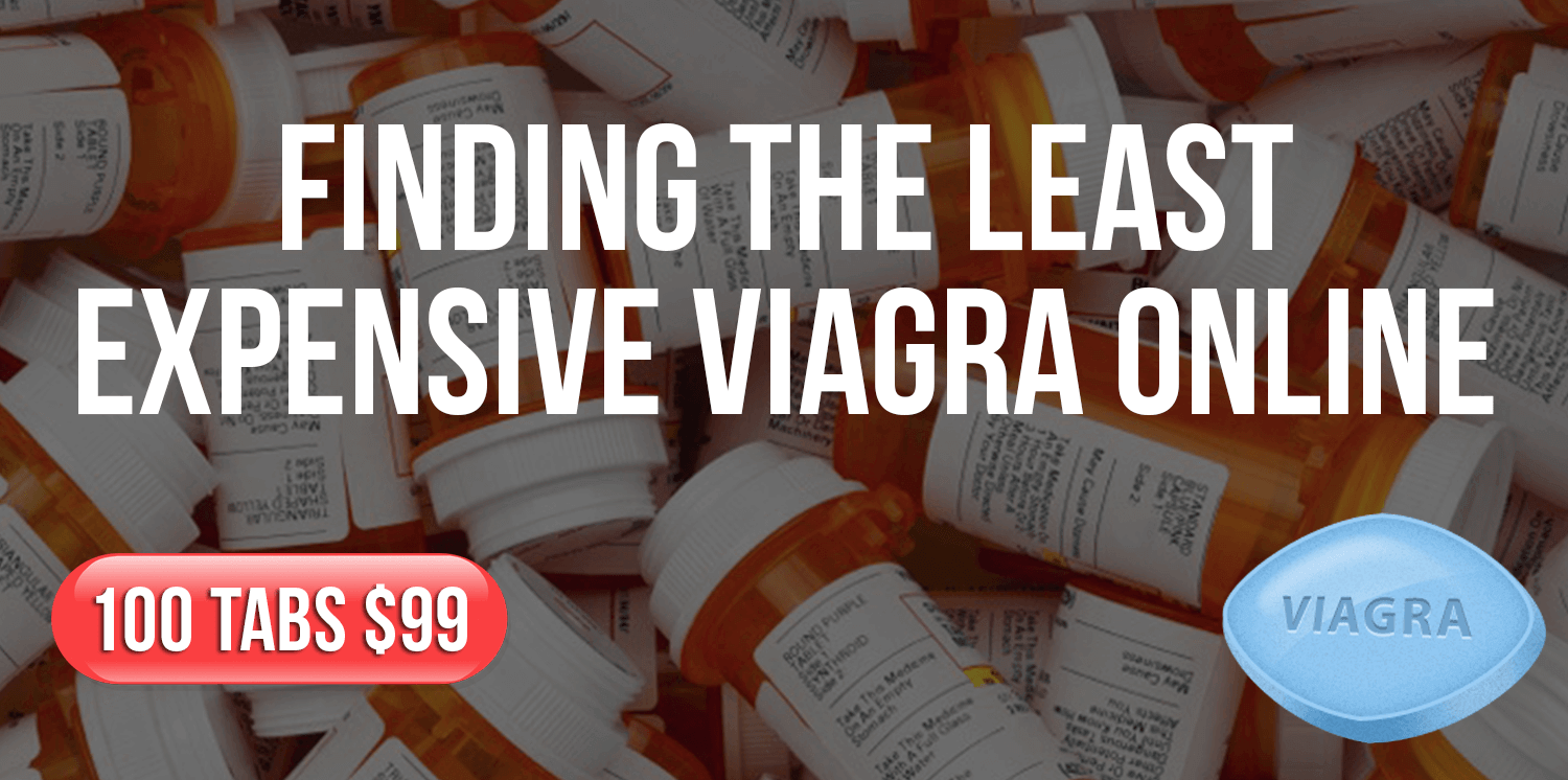 Finding the least expensive Viagra online