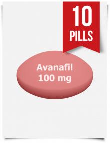 Stendra Generic Avanafil 100 mg x 10 Tabs