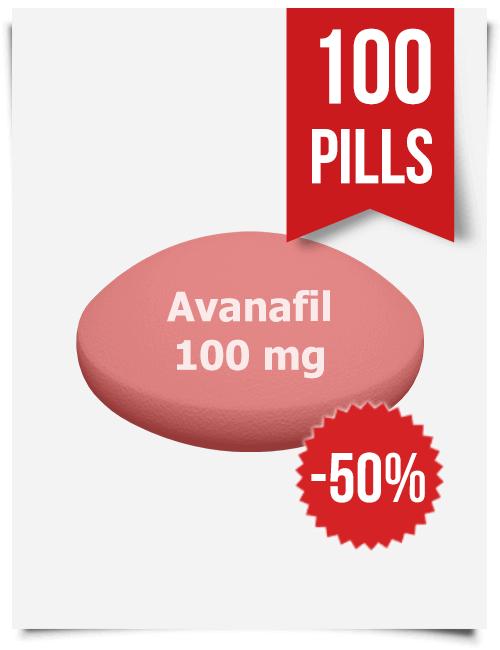 Stendra Generic Avanafil 100 mg x 100 Tabs