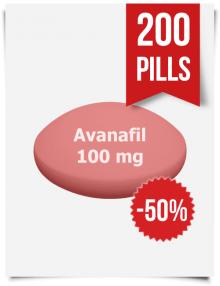 Stendra Generic Avanafil 100 mg x 200 Tabs