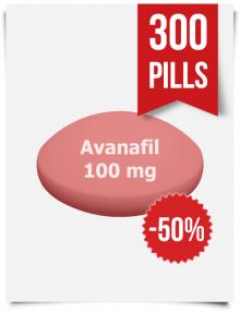 Stendra Generic Avanafil 100 mg x 300 Tabs