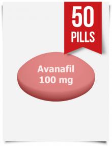 Stendra Generic Avanafil 100 mg x 50 Tabs