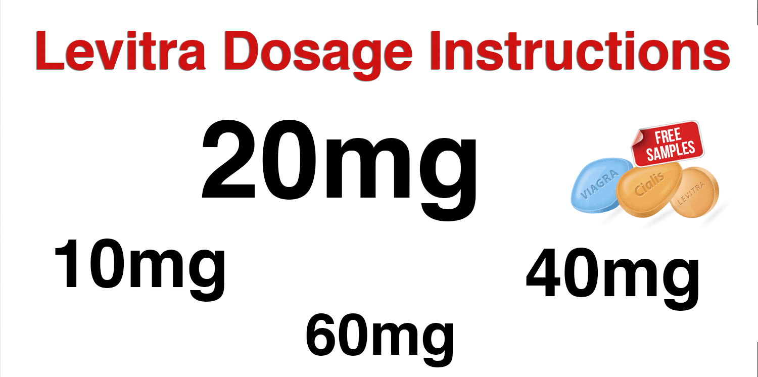 Levitra 20 mg instructions