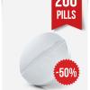 Modalert Generic Modafinil 200 mg x 200 Tabs