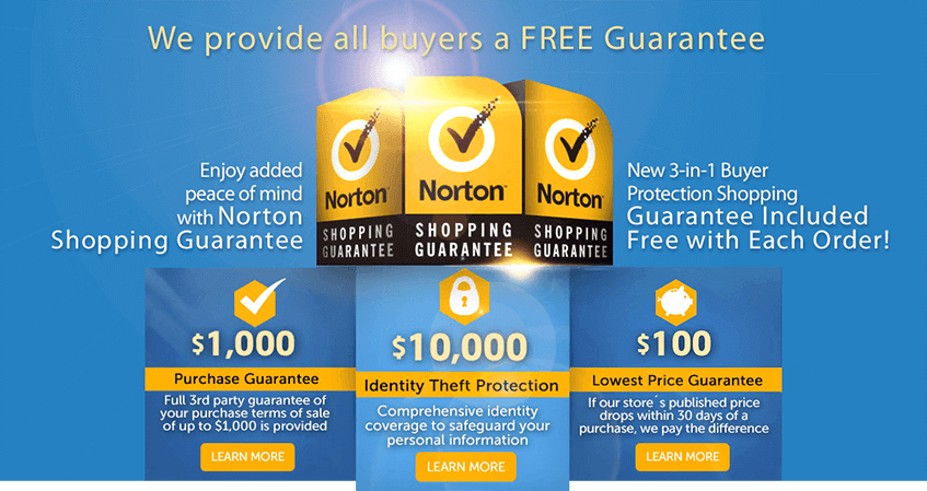 ViaBestBuy Norton Shopping Guarantee
