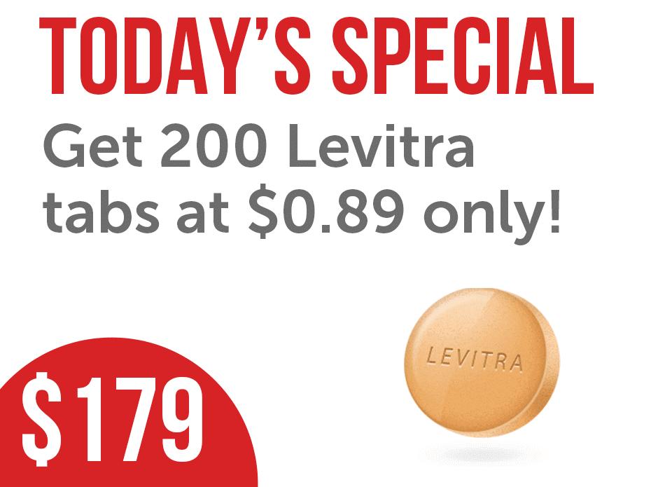 Generic Levitra 200 Tabs
