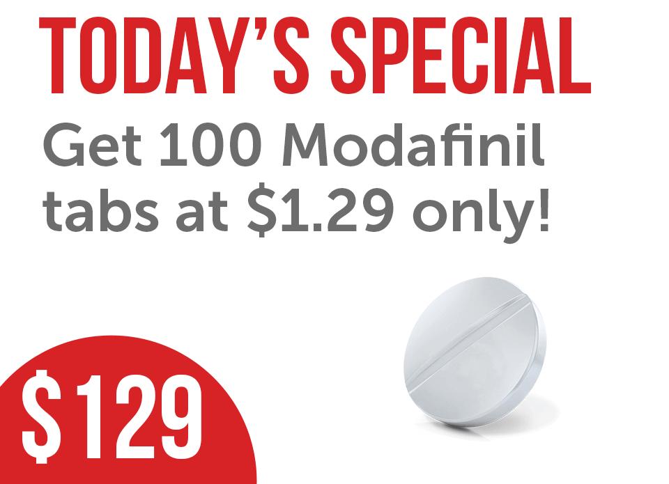 Generic Modafinil Modalert 100 Tabs