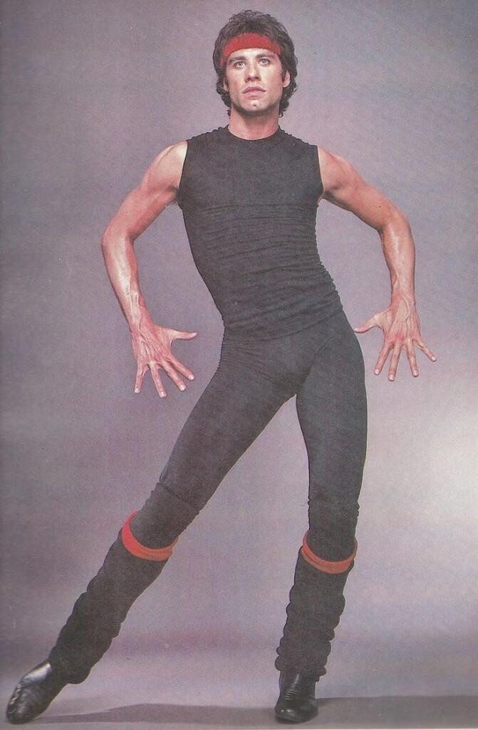 John Travolta Gay Dancing