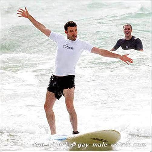 Matt Damon and Ben Affleck Board Ocean Relax Together