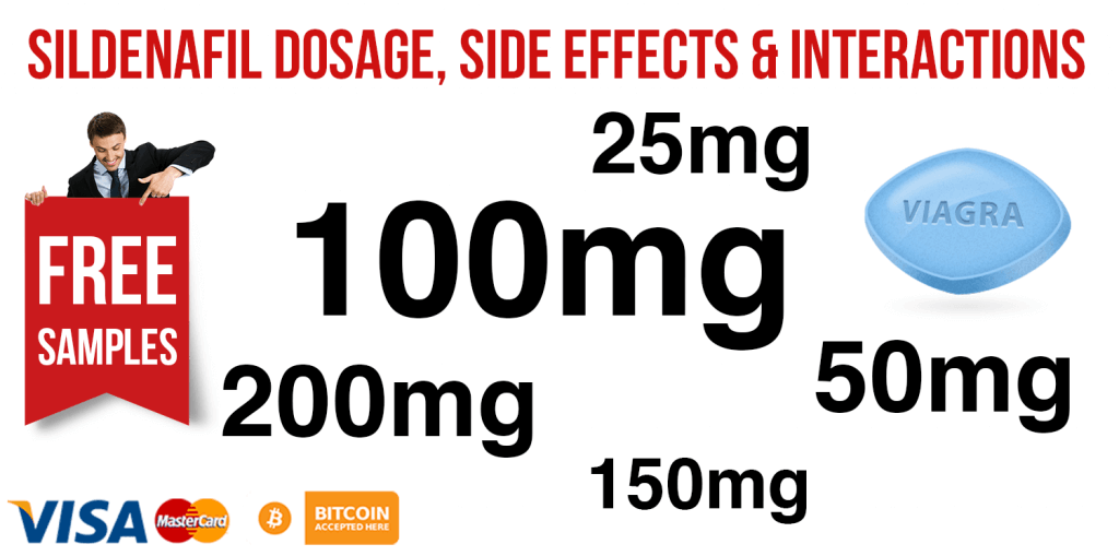 Sildenafil Dosage, Side Effects, Interactions