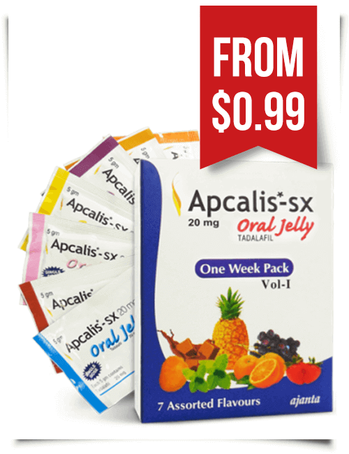 Apcalis Oral Jelly 20 mg Cialis Gel
