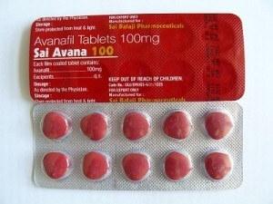 Avanafil pills