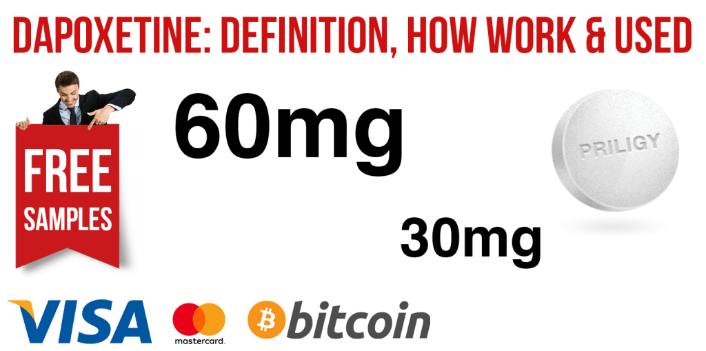 Dapoxetine: Definition, How Work and Used