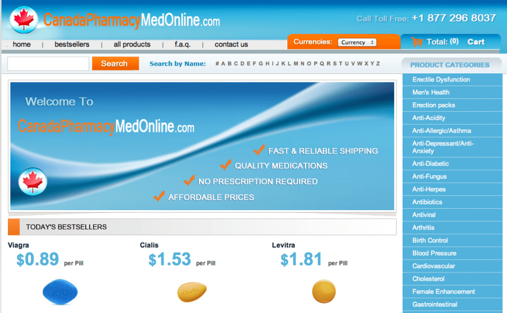 CanadaPharmacyMedOnline.com Pharmacy Review