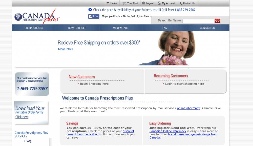 CanadaPrescriptionsPlus.com Pharmacy Review