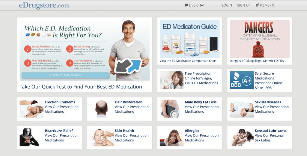 eDrugstore.com Pharmacy Review