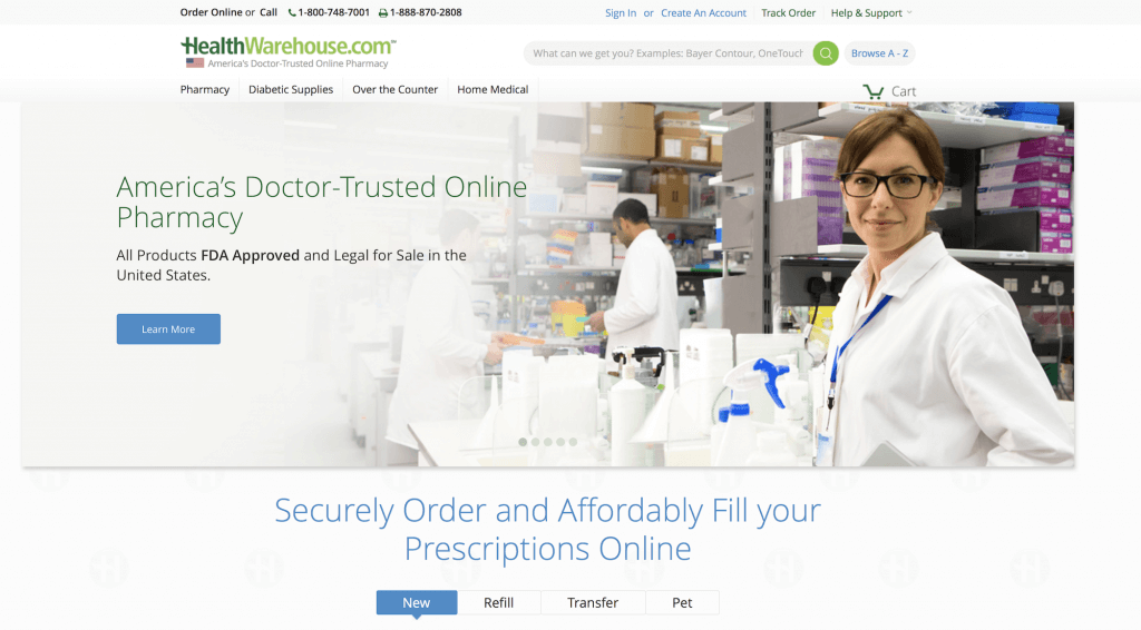 HealthWarehouse.com Pharmacy Review